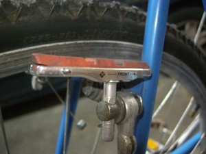 Old school cantilever brakes
