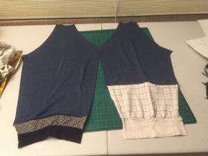 Both sleeves