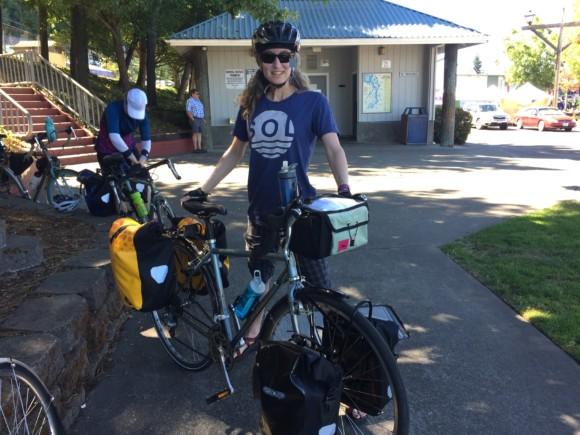 Easing into bike camping